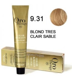 Coloration Oro thérapy n°9.31Blond très clair sable