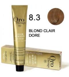 Coloration Oro thérapy n°8.3Blond clair doré