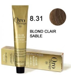 Coloration Oro thérapy n°8.31Blond clair sable