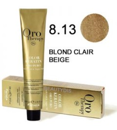Coloration Oro thérapy n°8.13Blond clair beige