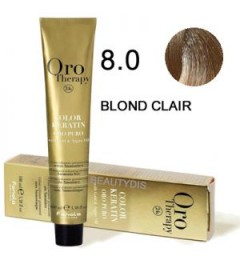 Coloration Oro thérapy n°8.0 Blond clair