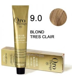 Coloration Oro thérapy n°9.0 Blond très clair