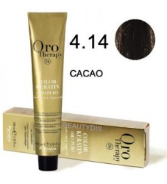Coloration Oro thérapy n°4.14Cacao