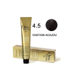 Coloration Oro thérapy n°4.5Chatain acajou