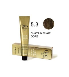 Coloration Oro thérapy n°5.3Chatain clair doré