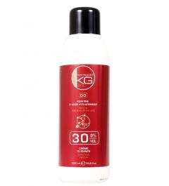 Crème oxydante 30Vol 1L-KERATINE ET ACIDE HYALLURONIQUE