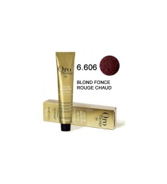 Coloration Oro thérapy n°6.606Blond foncé rouge chaud