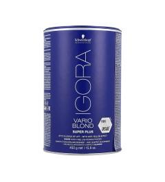 Poudre décolorante Vario Blond Super plus 450 Grs de Igora