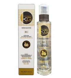 KERAGOLD PRO Serum sans sulfates à la Kératine&Huile de Coco 100ml
