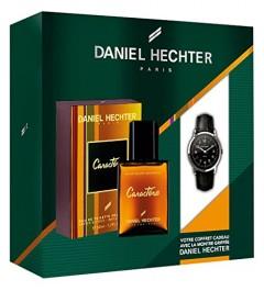Coffret Homme Caractère, Eau de Toilette 50 ml + Montre griffée DANIEL HECHTER