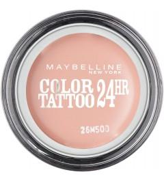 Ombre à paupières Color Tattoo 24h 91 Crème de Rose