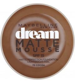 Fond de teint Dream matte mousse Cacao (70)