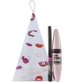 Coffret Mascara Lash sensational+Liner Hyper précise Alday-Noir