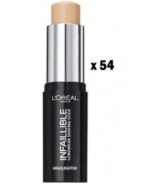 COLISSAGE DE 54 PIECES INFAILLIBLE HIGHLIGHT SHAPING STICK 502