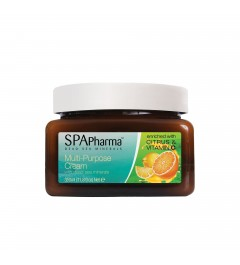 Crème energisante multi-usage aux agrumes et vitamine C