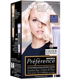 L'oreal Paris Preference 10.21 Very Light Pearl Blonde