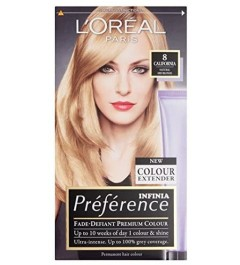 L'Oreal Coloration Récital Préférence 8 California Natural Blonde