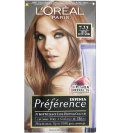 L'Oréal Préférence Infinia 7.23 riche Or rose