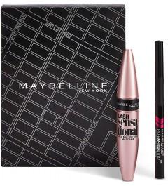 Coffret Maquillage cadeaux - Mascara Cils Sensational 01 Noir 9,4 ml + Liner Hyper Precise Allday 700 Noir 1 ml
