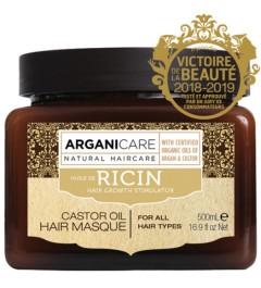Arganicare Masque renforçateur Arganicare à l'huile de ricin Bio. 500ml