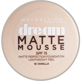 Fond de teint Dream Matte Mousse - 16 Vanilla