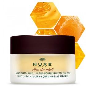 NUXE Baume Lèvres au Miel - Ultra-nourrissant et Réparateur Rêve de Miel