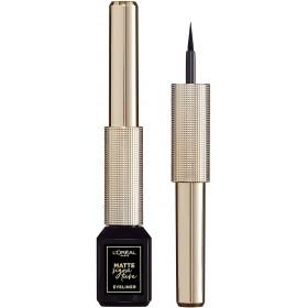 L'Oréal Paris - Eyeliner Pinceau mat et longue tenue - Matte Signature - Noir