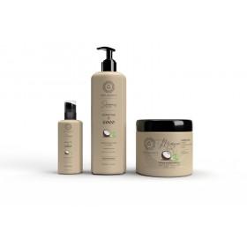 Trio ultra-nourrissant – Kératine & coco – Cheveux ternes, secs & frisés