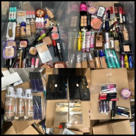 LOT DE 100 PIECES MAQUILLAGE LOREAL MAYBELLINE