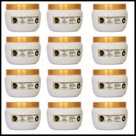 Lot de 12pcs de Masque 500ml KERAGOLD BC Keratine et huile de coco