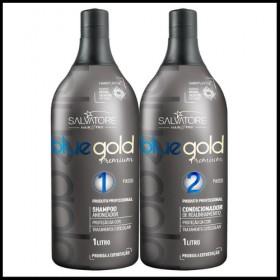 Lissage Tanin Salvatore Blue gold - Taninoplastie SALVATORE