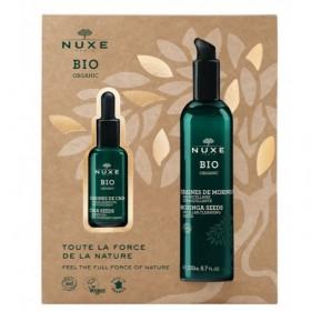 NUXE - Nuxe Bio Coffret - Eau Micellaire Démaquillante 200ml + Sérum Essentiel Antioxydant 30ml