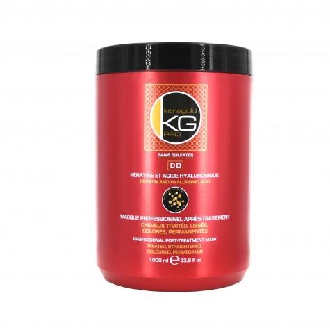 Masque 1L sans sulfates à la kératine & Acide hyaluronic - DD keratine