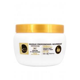 Masque Nourissant Keragold pro sans sulfates à la Kératine/Huile de Coco 500ml