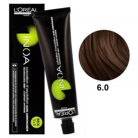 Tube Coloration Inoa 6.0 Blond Foncé Naturel L'Oréal 60 ML