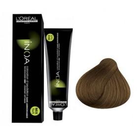 Tube Coloration Inoa 8.3 Blond Clair Doré L'Oréal 60 ML
