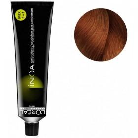 Tube Coloration Inoa 7.4 Blond Cuivré L'Oréal 60 ML