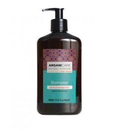 Shampoing Cheveux Abîmés Arganicare Beurre de Karité
