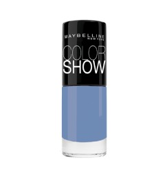 Vernis Gemey Maybelline Color Show 286 maybe blue